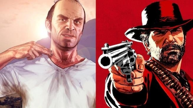 New 'Red Dead Redemption 2' And 'GTA V' Video Compares The