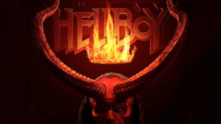 Hellboy movie logo