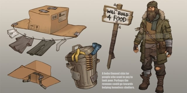 This 'Fortnite' Concept Art Aims to Help the Homeless