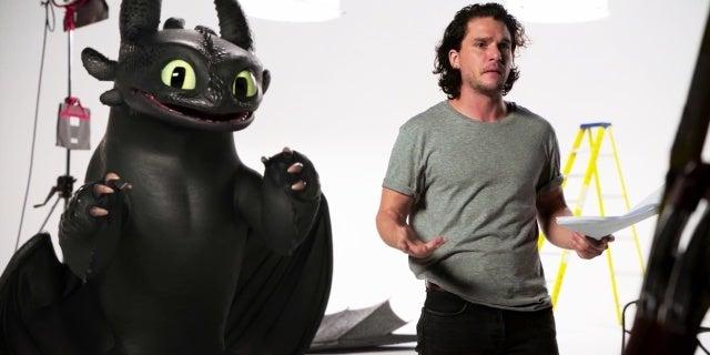 how to train your dragon 3 kit harington