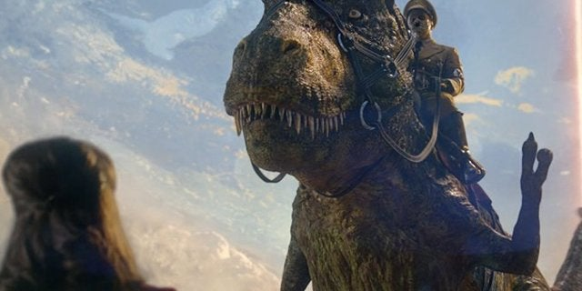 iron sky sequel dinosaurs