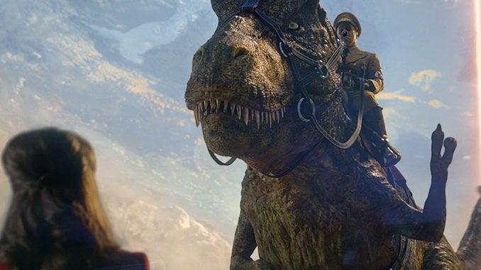iron sky sequel dinosaurs