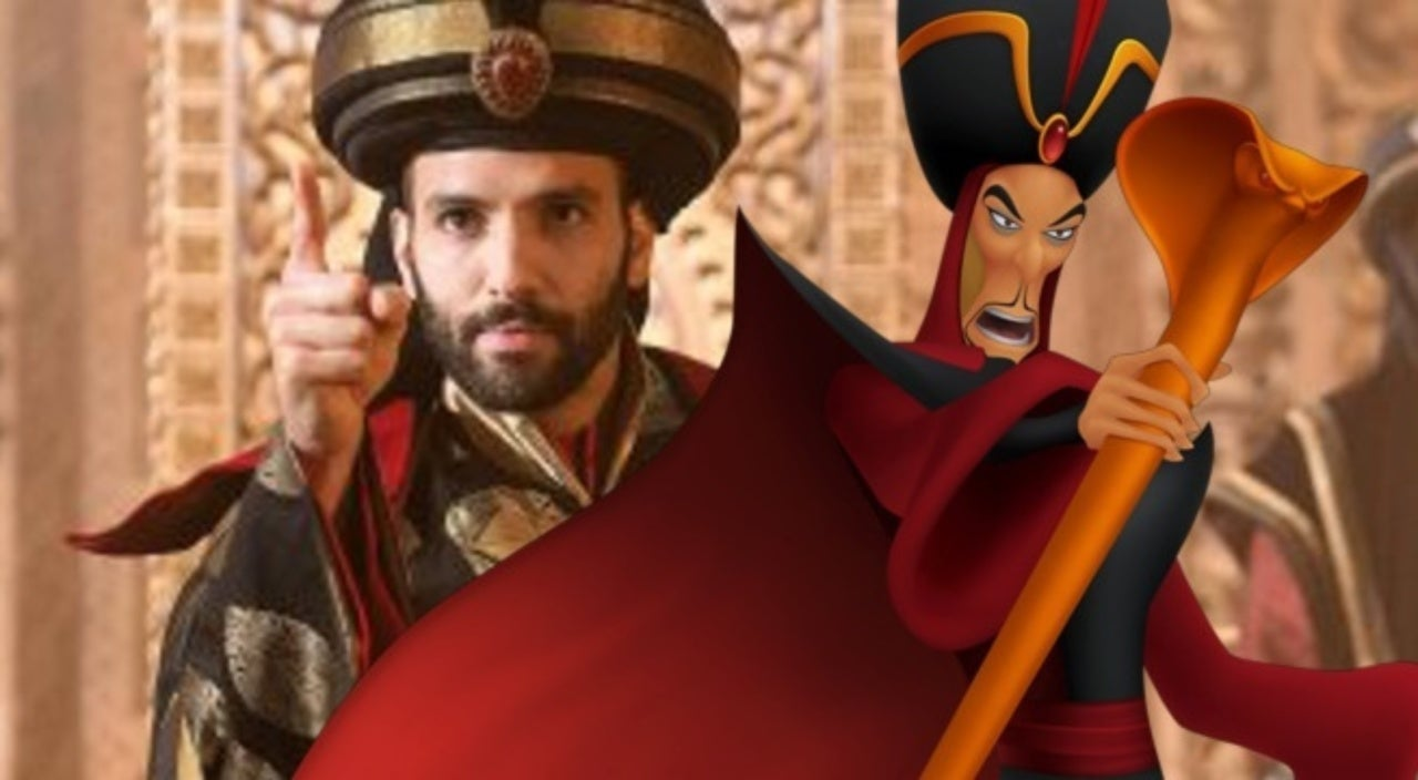 Disney S Aladdin First Look At Live Action Jafar Revealed