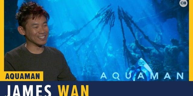 James Wan Talks 'Aquaman' screen capture