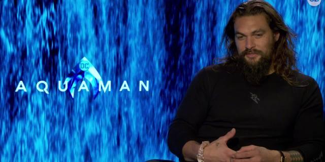 Jason Momoa Talks 'Aquaman' screen capture