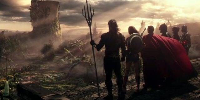 Justice League Snyder Cut Ending Aquaman