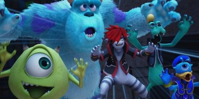 Tamaño del archivo 'Kingdom Hearts III' revelado