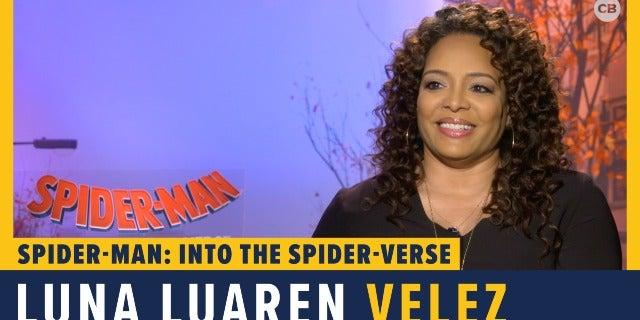 Luna Lauren Velez Talks 'Spider-Man: Into the Spider-Verse' screen capture