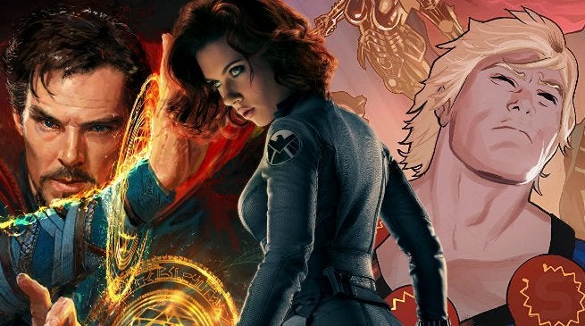 Marvel Phase 4 Movies WWI Black Widow Eternals