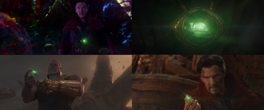 MCU Time Stone is never touched