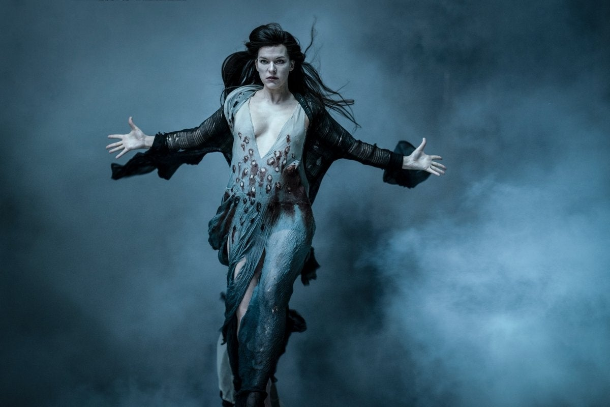 Milla Jovovich Hellboy Blood Queen Image