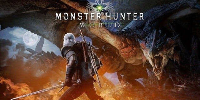 Monster Hunter World The Witcher 3