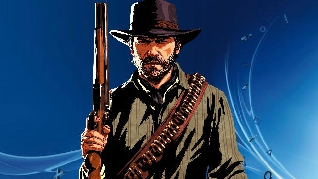 morgstation &quot;title =&quot; morgstation &quot;height =&quot; 368 &quot;width =&quot; 655 &quot;class =&quot; 40 &quot;data-item =&quot; 1150366 &quot;/ &gt; </figure> <p>  Sony Interactive Entertainment unveiled the most downloaded games in the PlayStation Store for November and what you&#39;d expect from PlayStation 4: Rockstar Games &amp; # 39; <em> Red Dead Redemption 2 </em> came out on top </p> <p>  Behind it was the last dog of the last month: <em> Call of Duty: Black Ops 4 </em> The first five places were rounded off <em> Fallout 76 </em> (debut), <em> Battlefield V </em>] (debut) and <em> FIFA 1<div class=