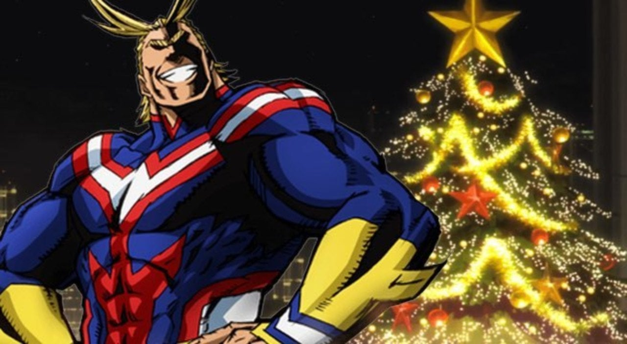 Marvel Christmas Tree Topper.This My Hero Academia Christmas Tree Is Mightier Than All