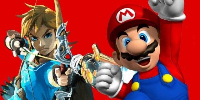 Nintendo Legend of Zelda Mario
