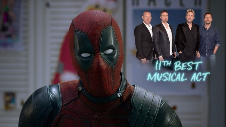 Once Upon a Deadpool Nickelback