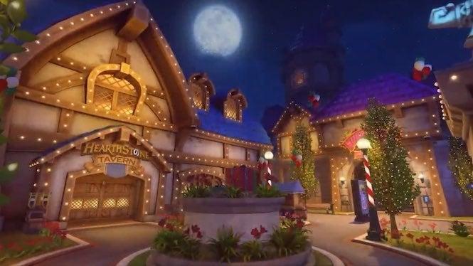 Overwatch Christmas.Overwatch Winter Wonderland Event Returning Next Week
