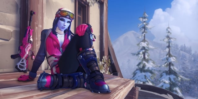 'Overwatch' Winter Event Basically Breaks the Blizzard World Map