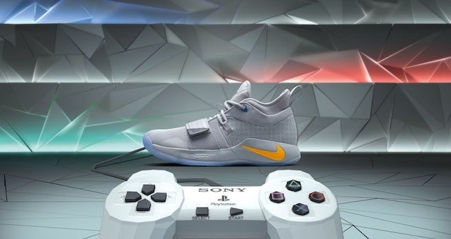 check out 2ff76 6ffad New PlayStation Sneakers Feature A Cool and Hidden Easter Egg