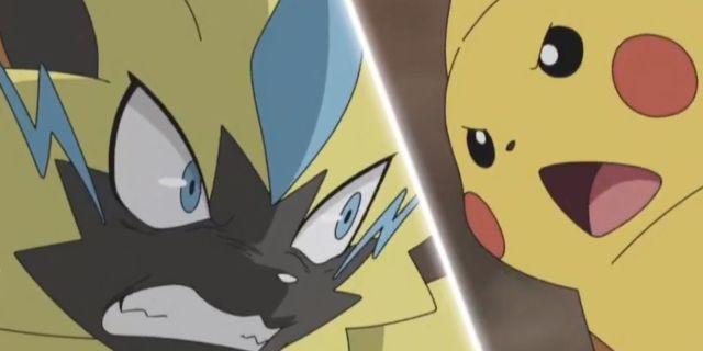 Pokemon-Sun-Moon-Pikachu-Zeraora-Anime