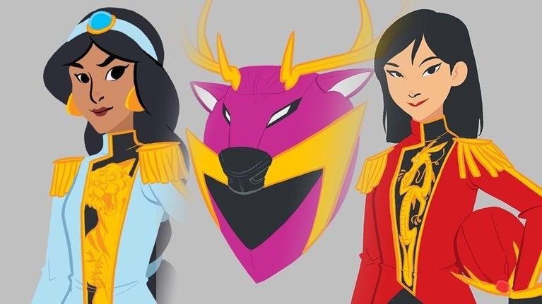 Power-Rangers-Sentai-Disney-Princess-Jamie-Noguchi