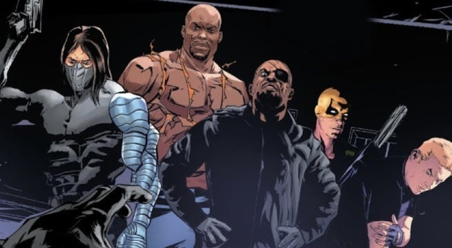 punisher 5 nick fury team