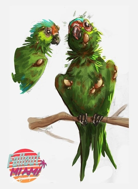 Radparrot_by_Sfaira
