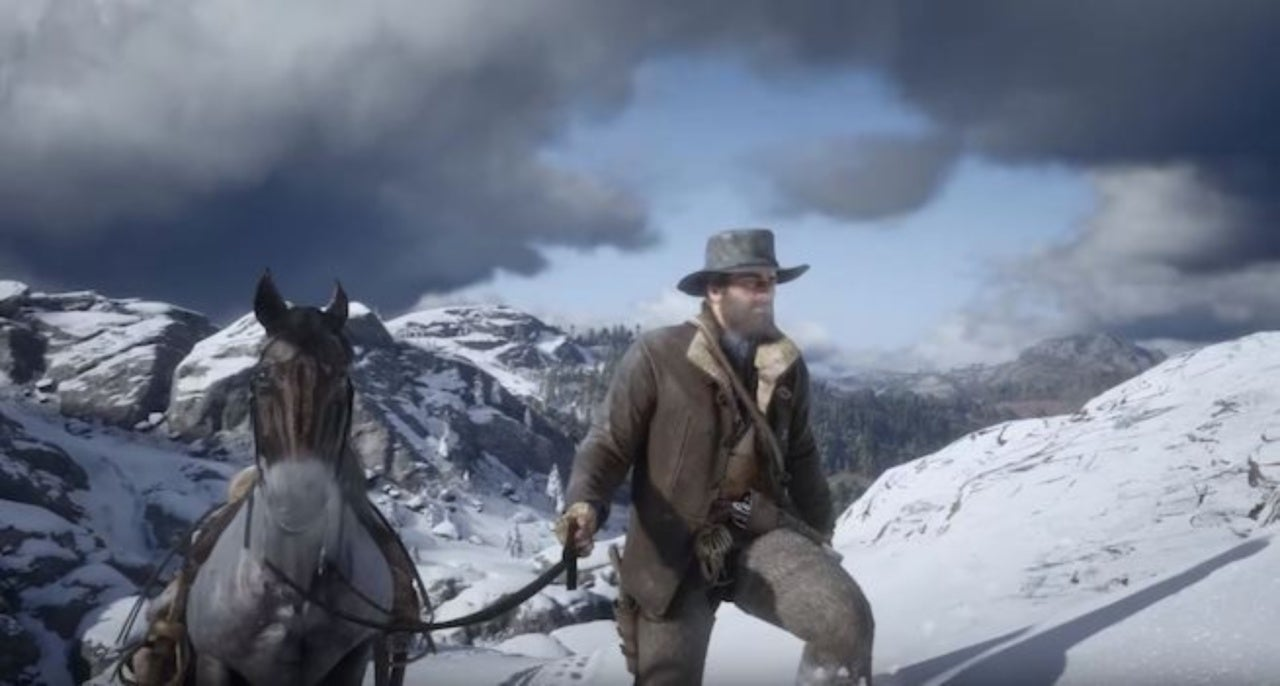 'Red Dead Redemption 2' Player Glitches Into Restricted Frozen and Snowy Area