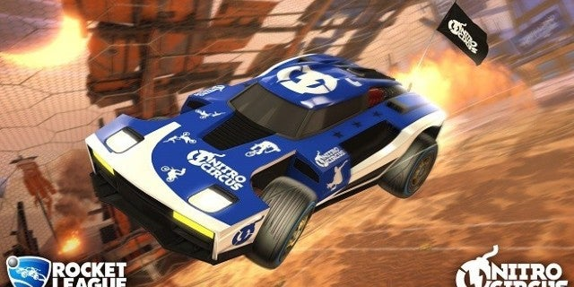 'Rocket League' Gets Brought to Life by 'Nitro Circus'