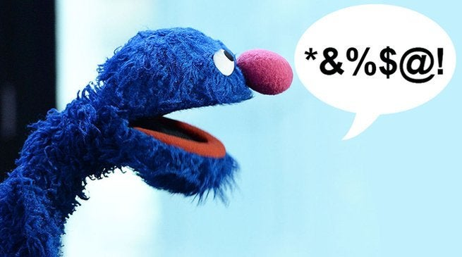 Sesame Street Grover Drops F-Bomb