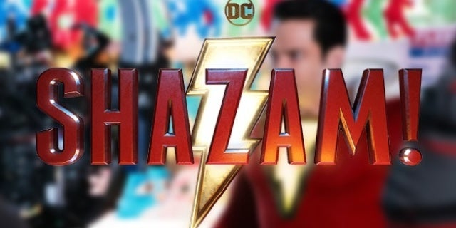 shazam movie bts photo