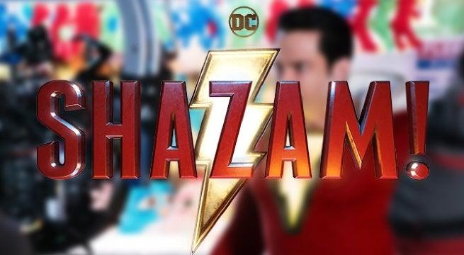 shazam movie bts photo
