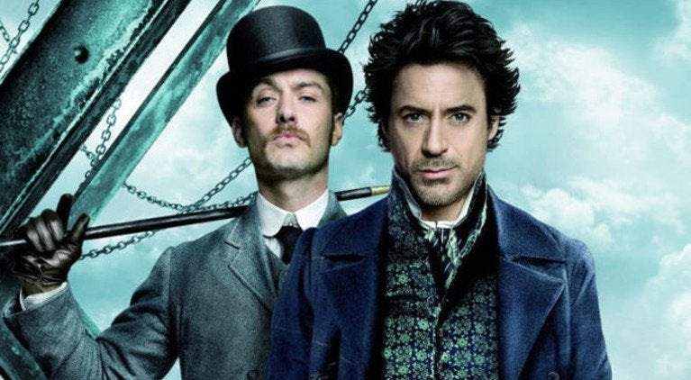 Sherlock Robert Downey Jr Jude Law