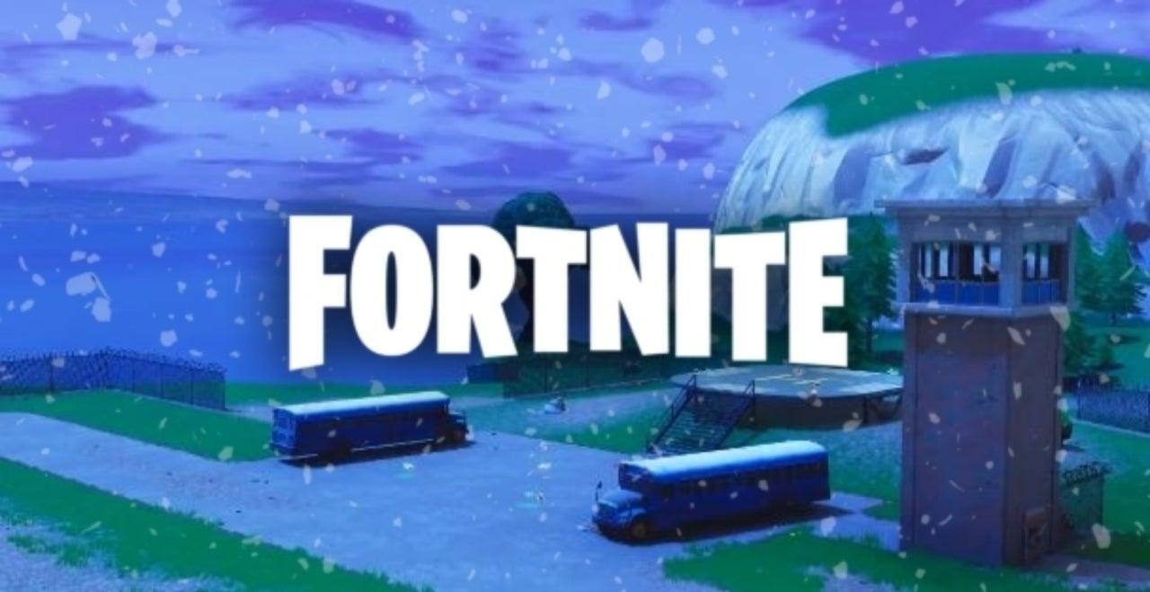 Fortnite Begins To See Snowfall Ahead Of Leaked Event