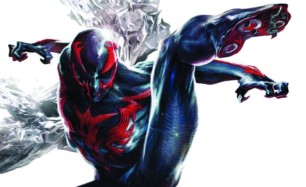 Spiderman 2099: 'Spider-Man: Into The Spider-Verse' Post-Credits Scene