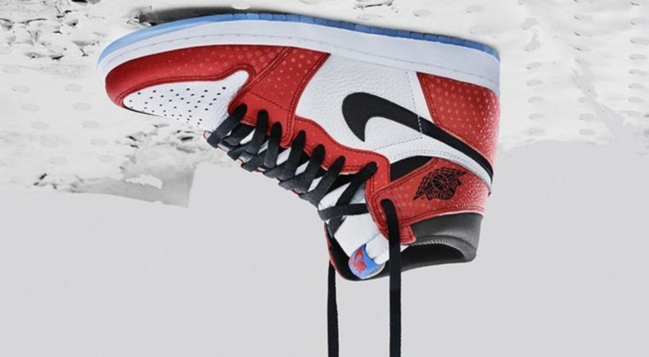 e74ca2dd269b36 Nike s  Spider-Man  Into the Spider-Verse  Air Jordan Sneakers Arrive Today