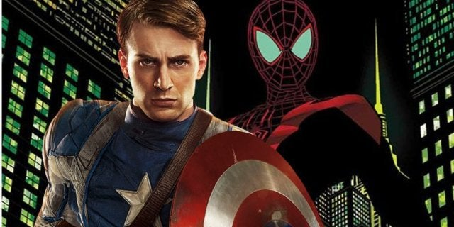 Spider-Man Captain America