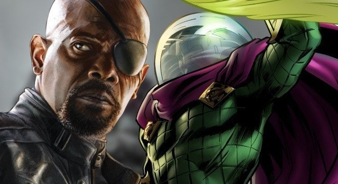 spider man far from home mysterio nick fury