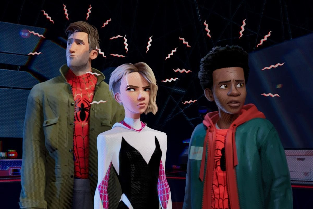 Spider-Man Into the Spider-Verse