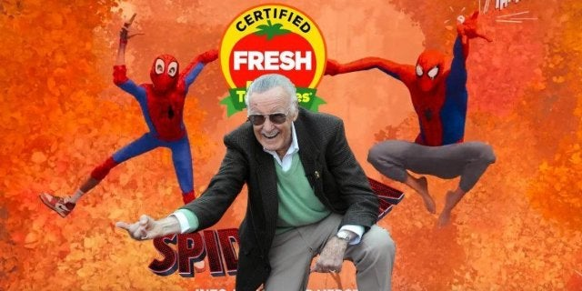 Spider-Man Into the Spider-Verse Certified Fresh Stan Lee