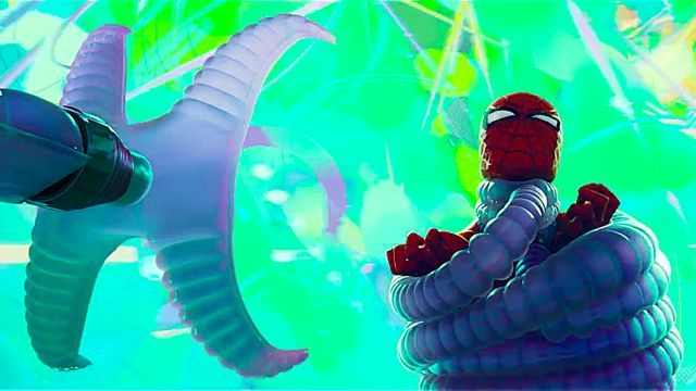 Spider-Man Into the Spider-Verse Doctor Octopus Trailer