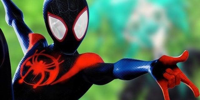 spider man spider verse anime