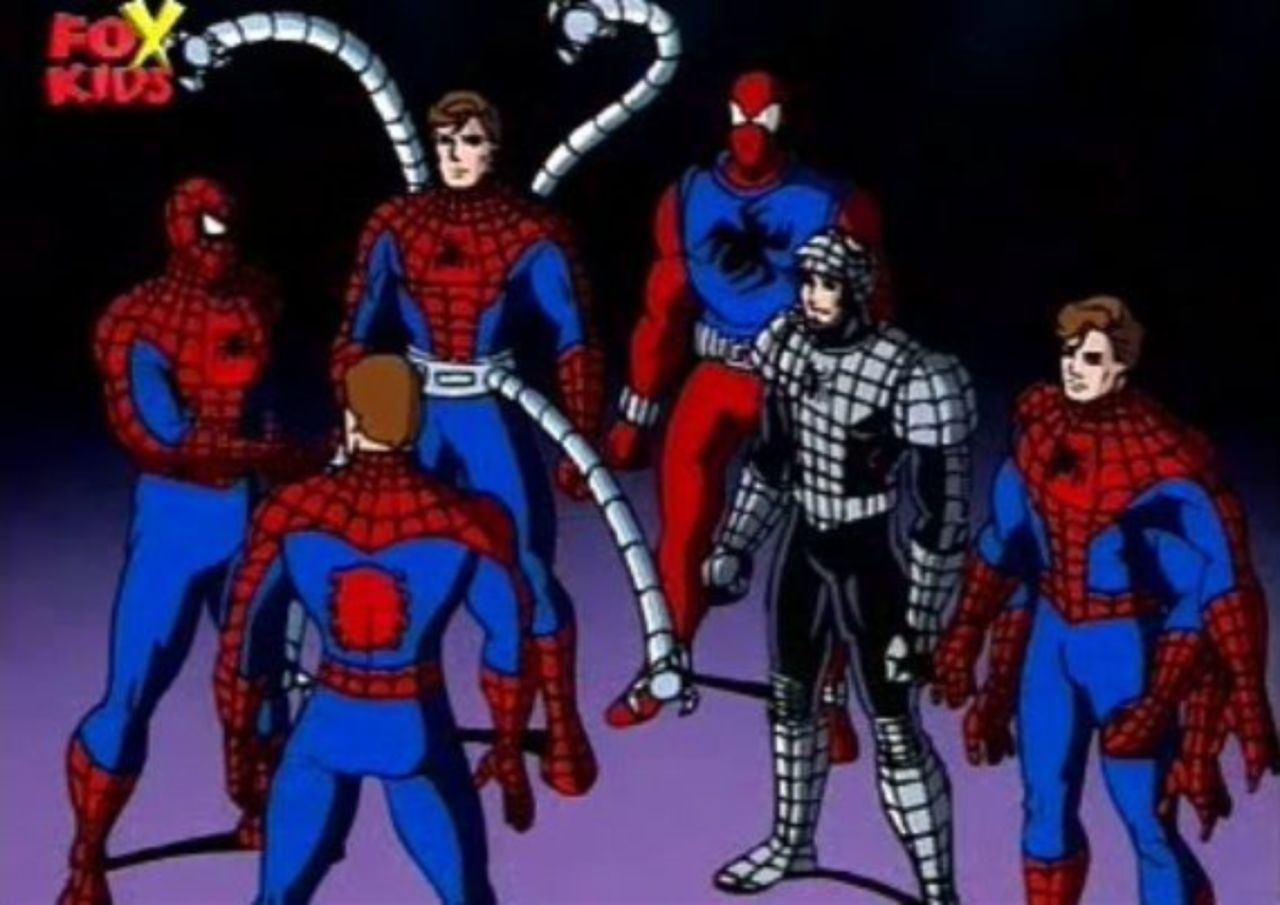 Remembering When the '90s 'Spider-Man' Cartoon Did 'Spider-Verse'