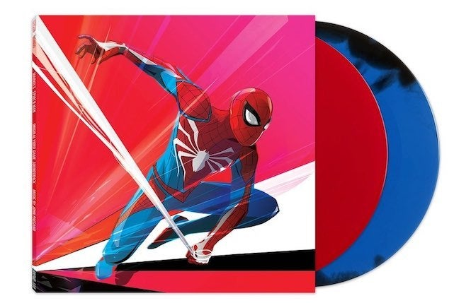 Spider Man Ps4 Double Vinyl Album Set Now Available For Pre Order