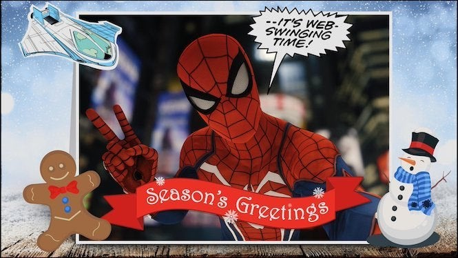 Spider-Man' PS4 Update Includes Festive Photo Mode Changes