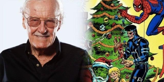 Stan Lee Marvel Comics Christmas comicbookcom