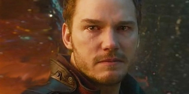 star lord crying