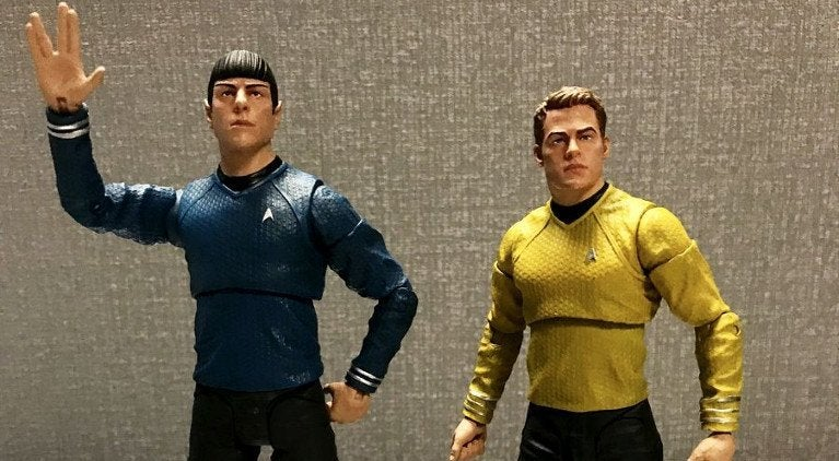 Star Trek Into Darkness Figures