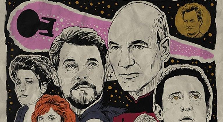 Star Trek Prints Bye Bye Robot