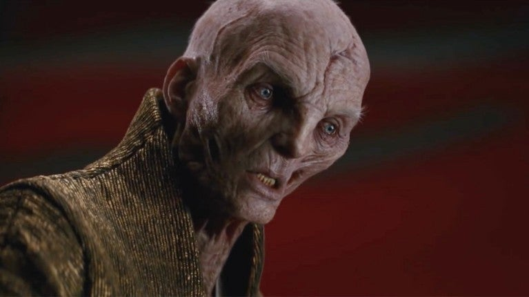 Star Wars The Last Jedi Snoke